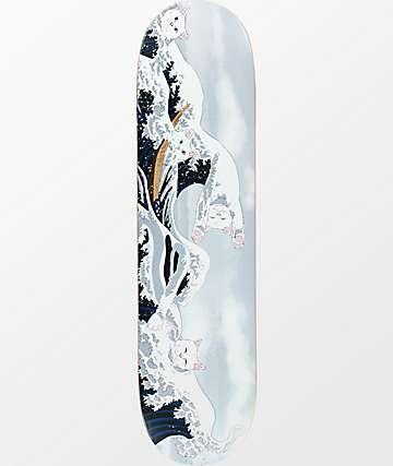 "RIPNDIP Great Wave Of Nerm 8.0"" Skateboard Deck"