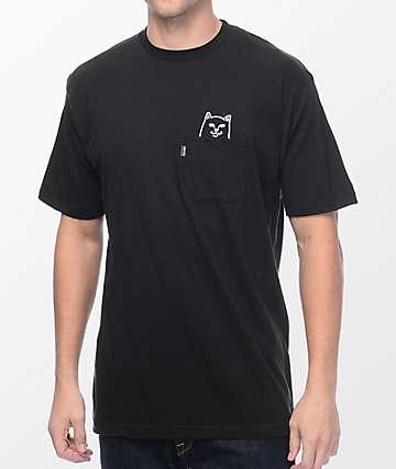 RIPNDIP Lord Jermal Black Pocket T-Shirt