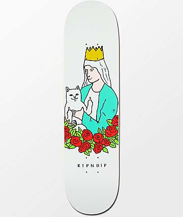 "RIPNDIP Lord Nermal Rose 8.0"" Skateboard Deck"