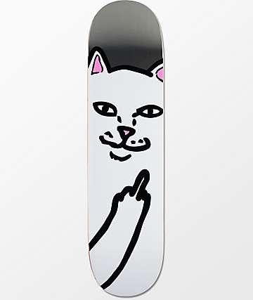 "RIPNDIP Lord Nermal Silver 8.0""  Skateboard Deck"