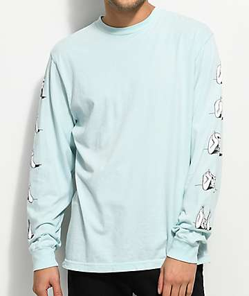 RIPNDIP Stoner Sea Foam Long Sleeve T-Shirt