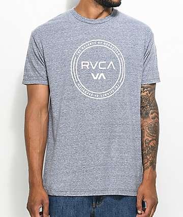 RVCA Balance Hoop Grey T-Shirt