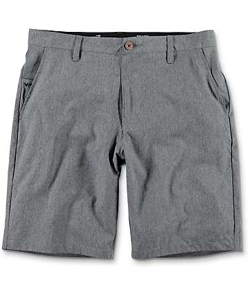 RVCA Benefits Charcoal Hybrid Board Shorts