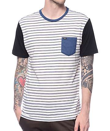 RVCA Change Up Striped Knit Shirt