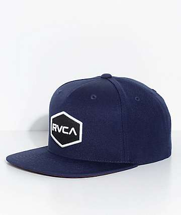 RVCA Commonwealth Navy Snapback Hat