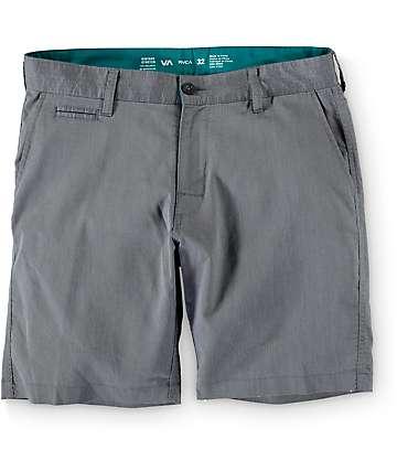 RVCA Control Oxo Black Hybrid Shorts