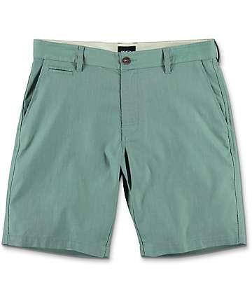 RVCA Control Oxo board shorts híbridos en verde claro