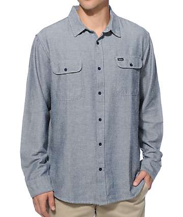 RVCA Coyote Long Sleeve Flannel Shirt