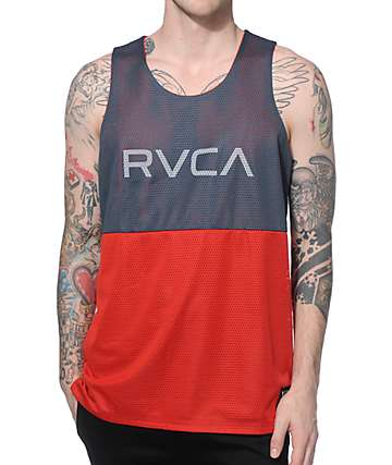 RVCA Dealer II Reversible Tank Top