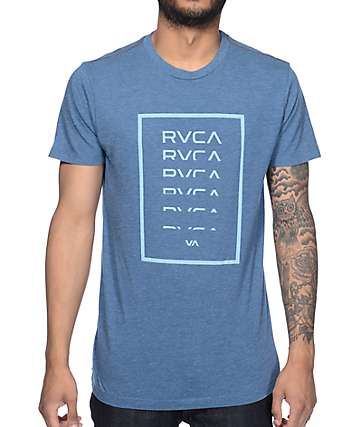 RVCA Diminished Stellar Blue T-Shirt