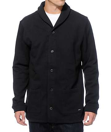 RVCA Duality Fleece Cardigan