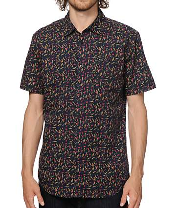 RVCA Early On Button Up Shirt