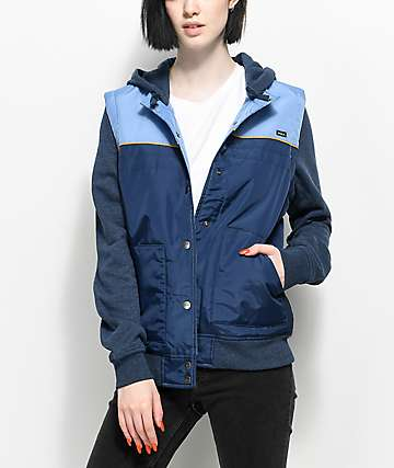 RVCA Former 2Fer Hooded Jacket