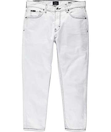 RVCA Hitcher jeans cortados blanqueados