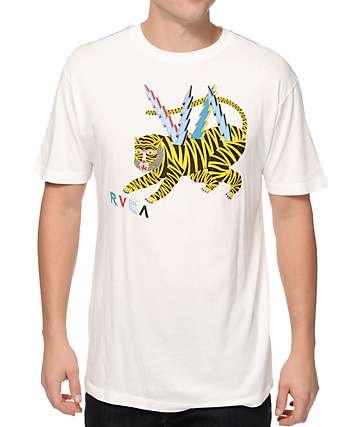 RVCA Leines Tiger T-Shirt