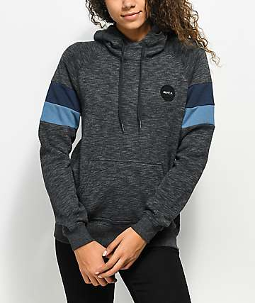 RVCA Motors Patch Black Hoodie