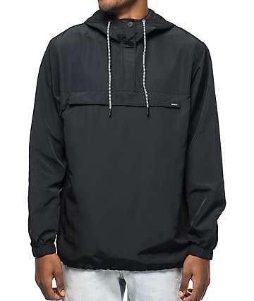 RVCA Packaway chaqueta anorak en negro