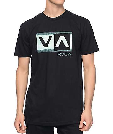 RVCA Quick Dip Balance Box Black T-Shirt