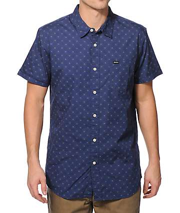 RVCA Satisfaction Button Up Shirt
