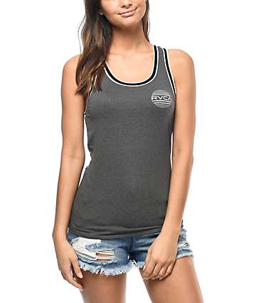 RVCA Sunborn Grey Tank Top