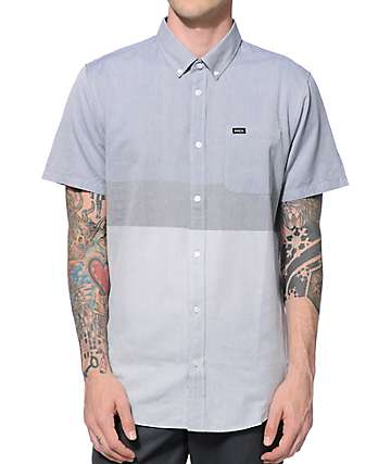 RVCA Thatll Do Block Button Up Shirt