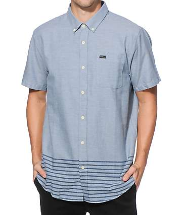 RVCA Thatll Do Layers Button Up Shirt