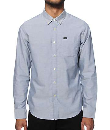 RVCA Thatll Do Long Sleeve Button Up Shirt