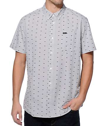 RVCA Thatll Do Squares Button Up Shirt