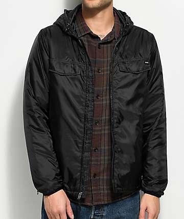RVCA Tracer Black Jacket