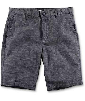 RVCA Twisted 20 shorts chinos en azul marino