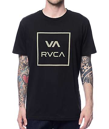RVCA VA All The Way Black T-Shirt