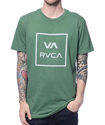 RVCA VA All The Way Green T-Shirt