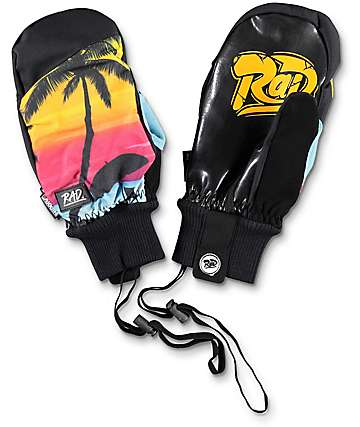 Rad Ripper Vacation Snowboard Mittens