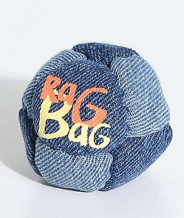 Rag Bag Denim Hacky Sack