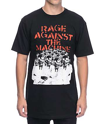 Rage Against The Machines Suits Black T-Shirt