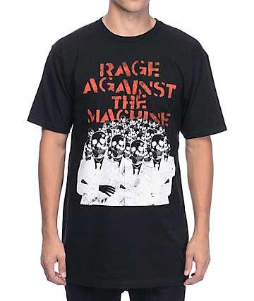 Rage Against The Machines Suits Black T-Shirt