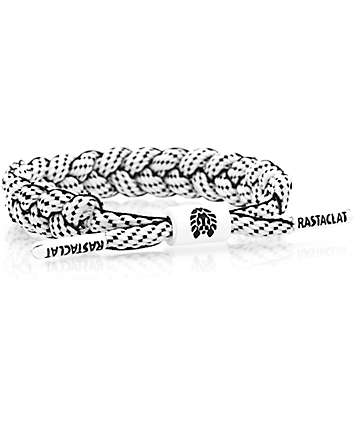 Rastaclat Bishop Black & White Bracelet
