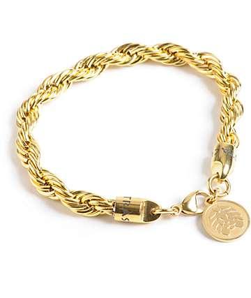 Rastaclat Bizmark Gold Bracelet