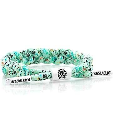 Rastaclat Bluhm Turquoise Splatter Bracelet