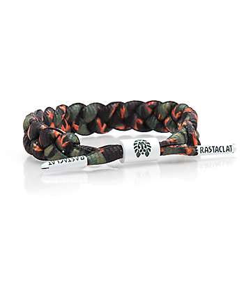 Rastaclat Crane Green & Orange Bracelet