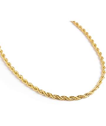 Rastaclat Jam Master Gold Necklace