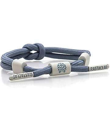 Rastaclat Knotaclat Collar Blue & Grey Bracelet