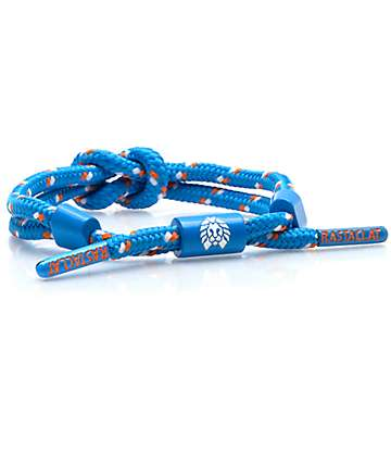 Rastaclat Knotaclat Kippy Blue, Orange & White Bracelet