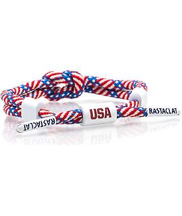 Rastaclat Knotaclat Team USA Bracelet