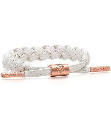 Rastaclat Pearl Classic White Bracelet