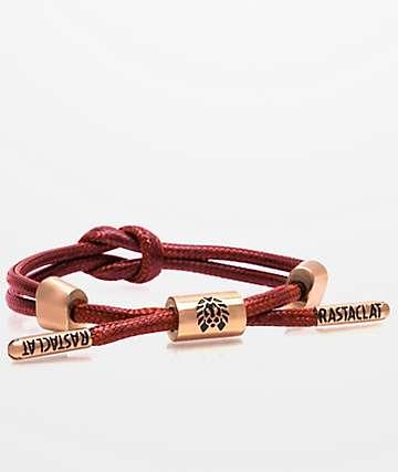 Rastaclat Remy Knotaclat Red Bracelet