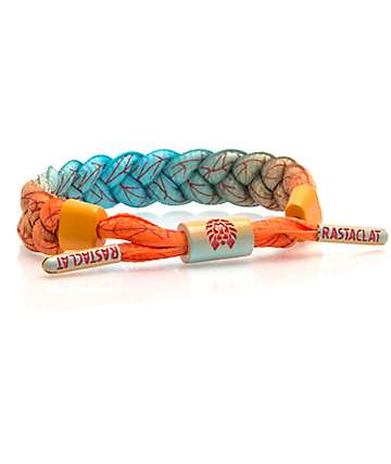 Rastaclat Sunrise Orange & Blue Bracelet