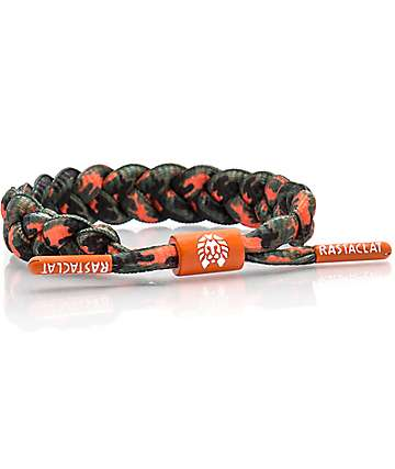 Rastaclat Takitimu Orange & Green Bracelet