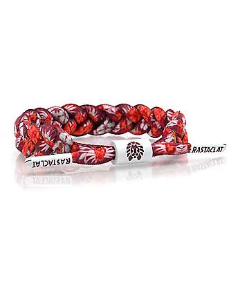 Rastaclat Tommy Red & Orange Floral Bracelet