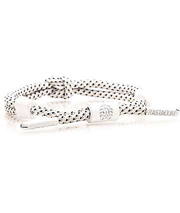 Rastaclat Vida White Knotaclat Bracelet